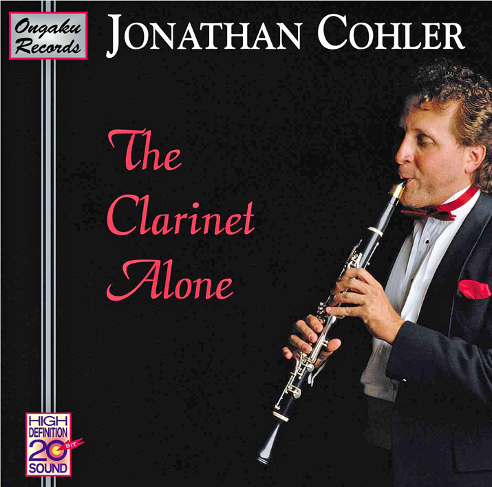 Jonathan Cohler: The Clarinet Alone