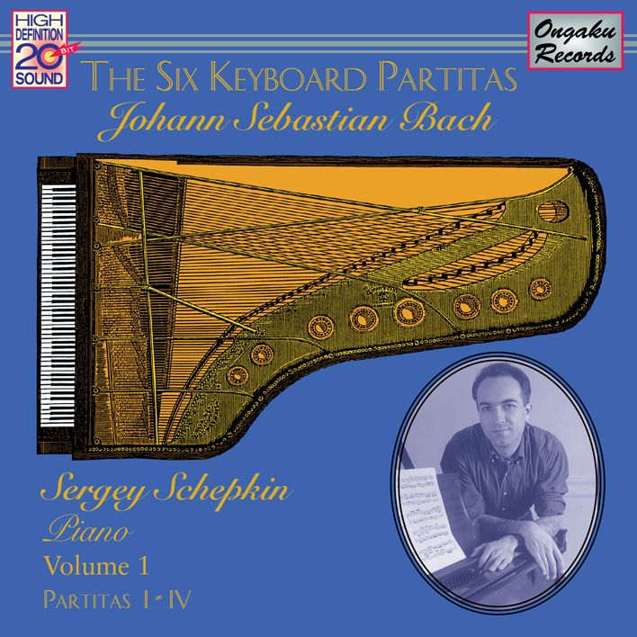 The Six Keyboard Partitas Vol. 1