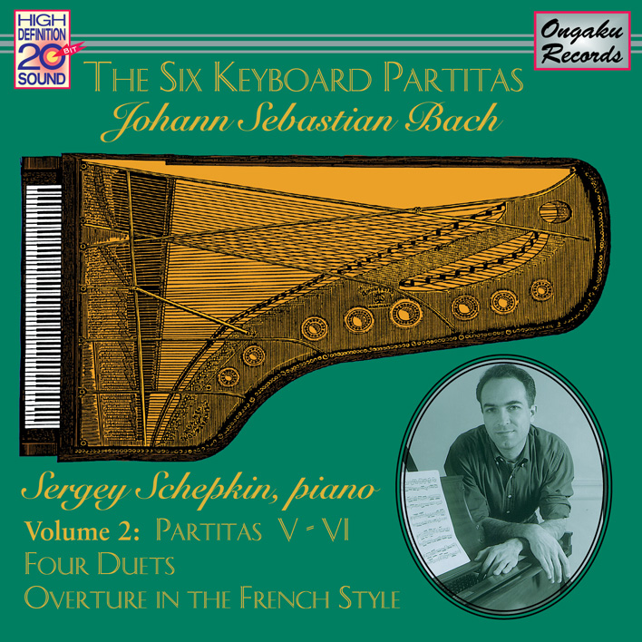 The Six Keyboard Partitas Vol. 2