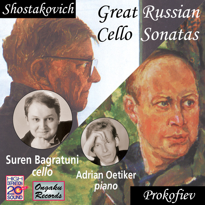 Great Russian Cello Sonatas
